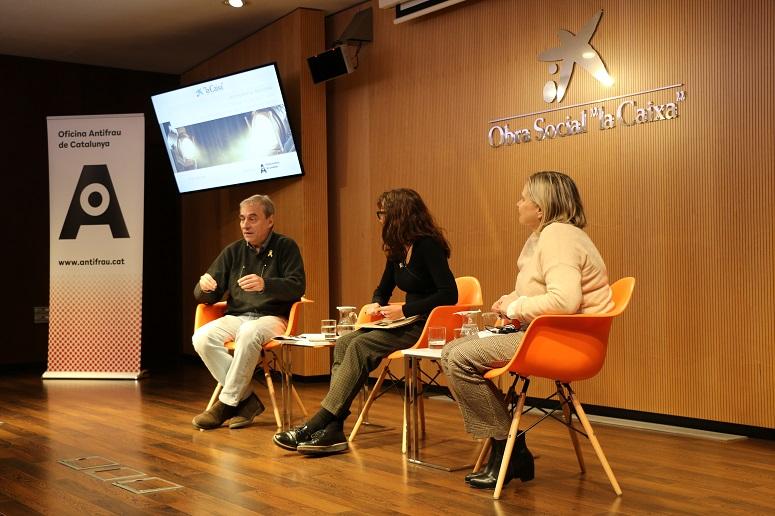 Col·loqui entre Gemma Rubí i Octavi Martí, modera Lourdes Parramon