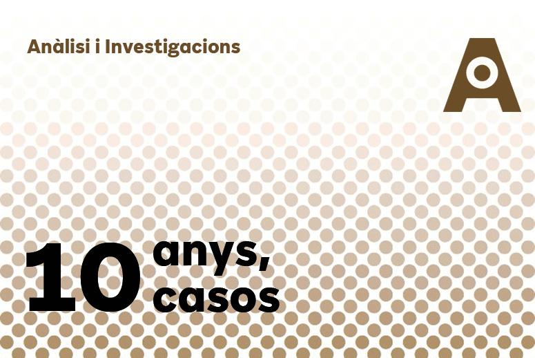 10 anys, 10 casos